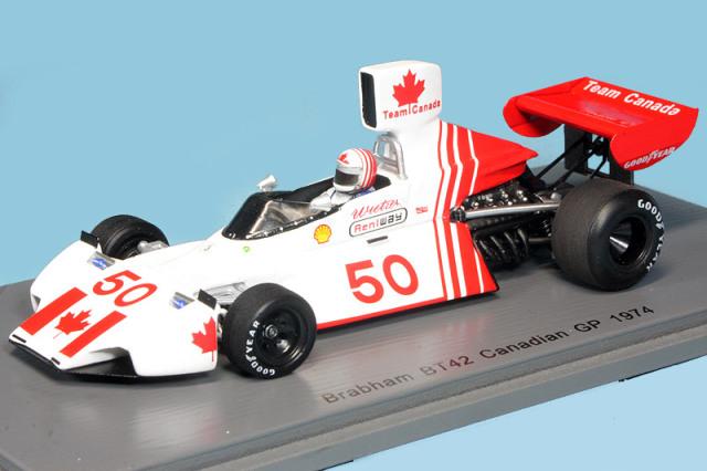 スパーク 1/43 ブラバム BT42 カナダGP 1974 E.ウィーツェス S5257