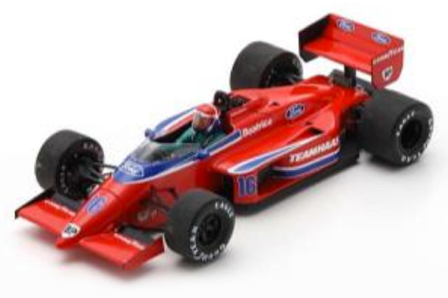 [予約] スパーク 1/43 ローラ THL2 U.S.GP 1986 E.チーバー S5334