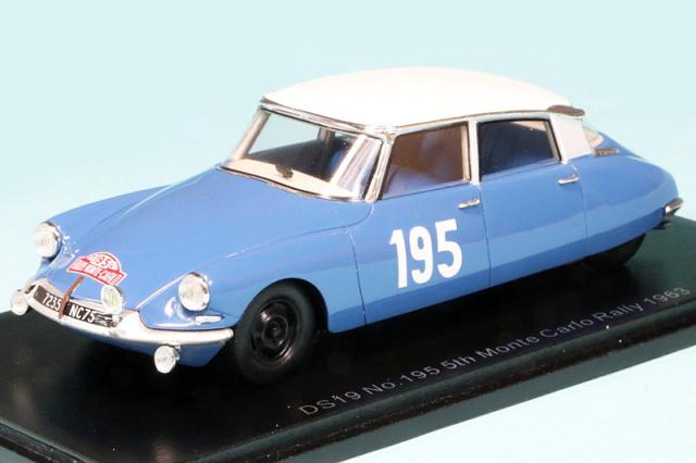 スパーク 1/43 シトロエン DS19 モンテカルロラリー 1963 5th No.195 S5533