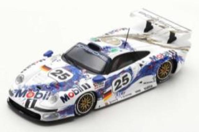 [予約] スパーク 1/43 ポルシェ 911 GT1 ルマン 24h 1996 2nd No.25 S5602