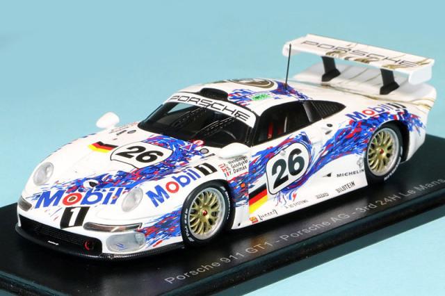 スパーク 1/43 ポルシェ 911 GT1 ルマン 24h 1996 3rd No.26 S5603