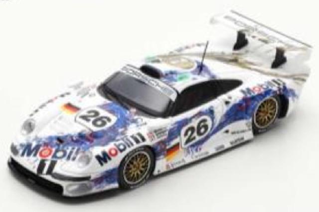 [予約] スパーク 1/43 ポルシェ 911 GT1 ルマン 24h 1996 3rd No.26 S5603