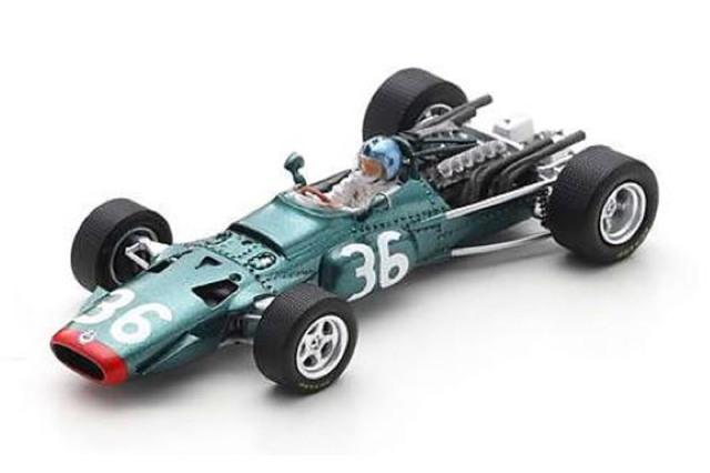 [予約] スパーク 1/43 BRM P126 フランスGP 1968 6th P.カレッジ S5701
