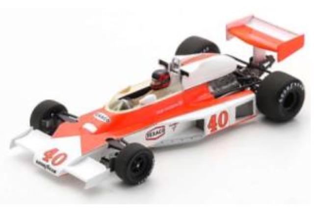 [予約] スパーク 1/43 マクラーレン M23 イギリスGP 1977 G.ビルヌーブ S5744
