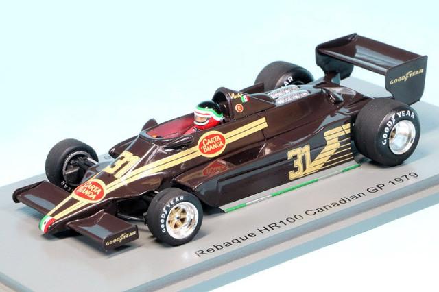 スパーク 1/43 レバーク HR100 カナダGP 1979 H.レバーク S5750