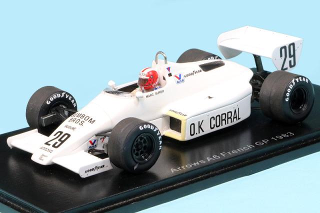 スパーク 1/43 アロウズ A6 フランスGP 1983 M.スレール S5781