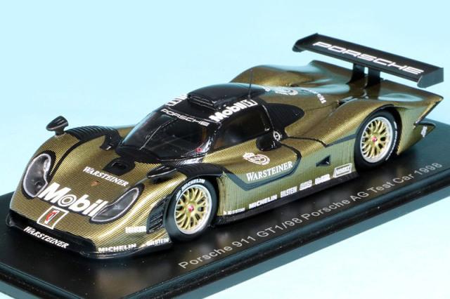 スパーク 1/43 ポルシェ 911 GT1/98 ポルシェAG 1998 テストカー S5997