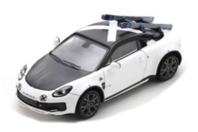 [予約] スパーク 1/43 アルピーヌ A110 スポーツX 2020 ホワイト S6182