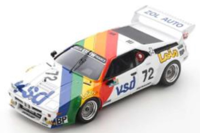 [予約] スパーク 1/43 BMW M1 ルマン 24h 1981 No.72 S6405