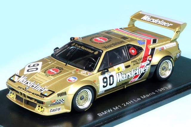 スパーク 1/43 BMW M1 ルマン 24h 1983 No.90 S6407