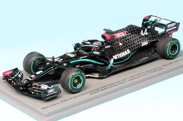 [再入荷] スパーク 1/43 メルセデス AMG ペトロナス F1 W11 EQ Performance トルコGP 2020 Winner L.ハミルトン ワールドチャンピオン (ピットボード付) S6488