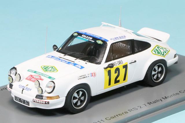 スパーク 1/43 ポルシェ 911 カレラ RS 2.7 モンテカルロ 1978 No.127 S6641