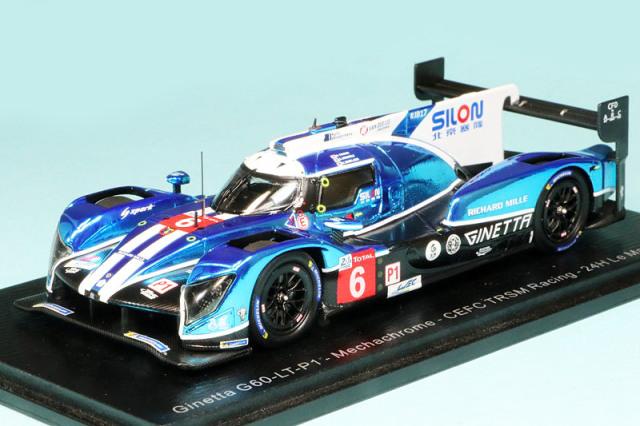スパーク 1/43 ジネッタ G60-LT-P1 CEFC TRSM Racing ルマン 24h 2018 No.6 S7005
