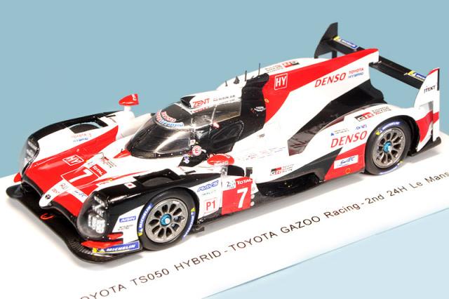 スパーク 1/43 トヨタ TS050 GAZOO Racing ルマン 24h 2018 2nd No.7 S7006