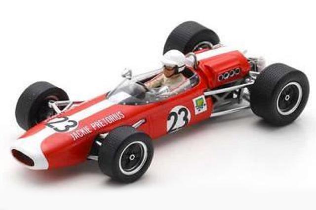 [予約] スパーク 1/43 ブラバム BT11 南アフリカGP 1967 J.プレトリアス S7090