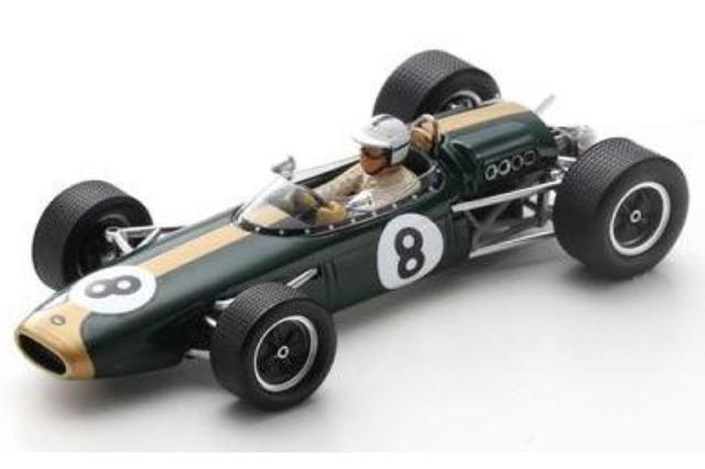 [予約] スパーク 1/43 ブラバム BT22 モナコGP 1966 D.ハルム S7091