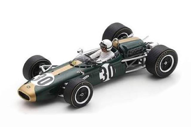 [予約] スパーク 1/43 ブラバム BT22 フランスGP 1966 J.ボニエ S7092