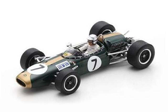 [予約] スパーク 1/43 ブラバム BT22 イギリスGP 1966 C.アーウィン S7093