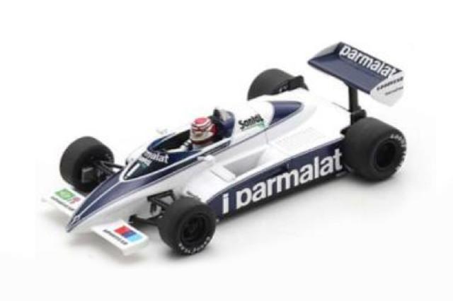 [予約] スパーク 1/43 ブラバム BT50 カナダGP 1982 Winner N.ピケ S7116