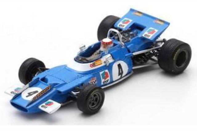 [予約] スパーク 1/43 マトラ MS80 オランダGP 1969 Winner J.スチュワート S7191