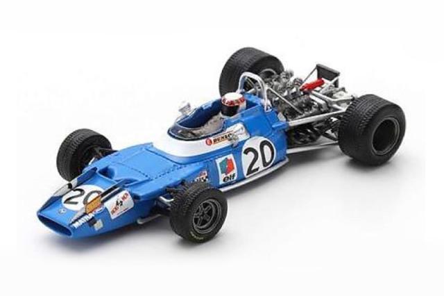 [予約] スパーク 1/43 マトラ MS80 イタリアGP 1969 Winner J.スチュワート S7192