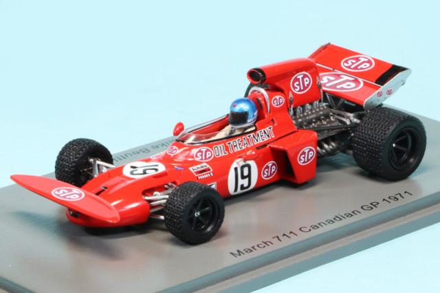 スパーク 1/43 マーチ 711 カナダGP 1971 M.ボイトラー S7262