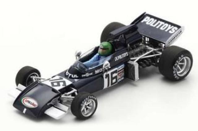 [予約] スパーク 1/43 マーチ 721 フランスGP 1972 H.ペスカローロ S7264