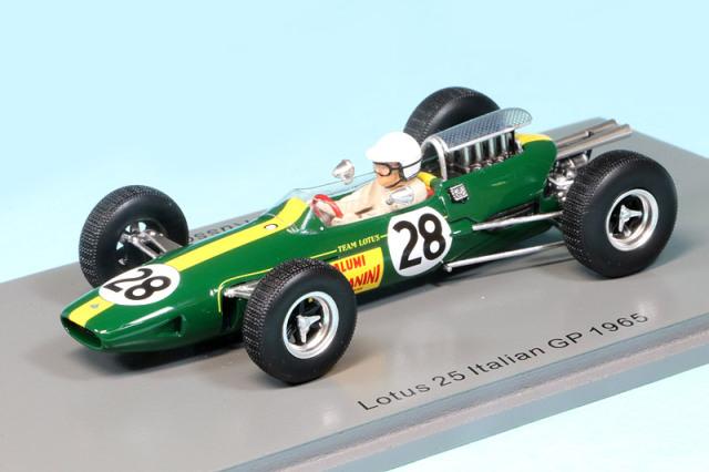 スパーク 1/43 ロータス 25 イタリアGP 1965 G.R.ジェーキ S7293