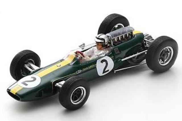 [予約] スパーク 1/43 ロータス 33 フランスGP 1966 P.アランデル S7294
