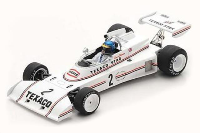[予約] スパーク 1/43 ロータス 74 F2 I.G.B.GP 1973 R.ピーターソン S7303