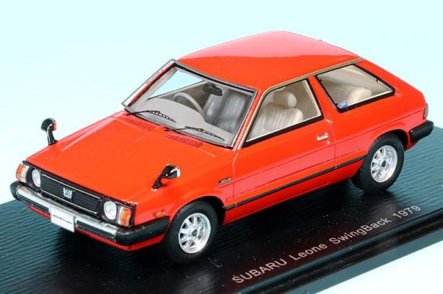 スパーク 1/43 スバル レオーネ スイングバック 1979 レッド S7358