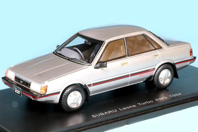 スパーク 1/43 スバル レオーネ セダン 4WD 1984 シルバー S7360