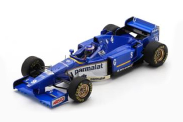 [予約] スパーク 1/43 リジェ JS43 無限ホンダ モナコGP 1996 Winner O.パニス S7413