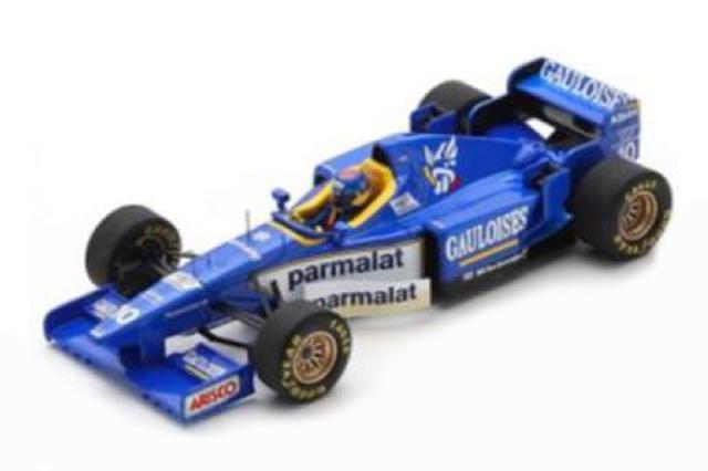 [予約] スパーク 1/43 リジェ JS43 スペインGP 1996 6th P.ディニス S7414