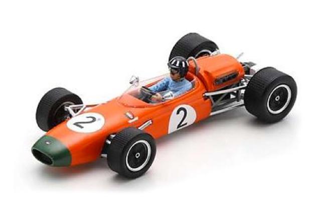[予約] スパーク 1/43 ブラバム BT11A ニュージーランドGP 1965 Winner G.ヒル S7432