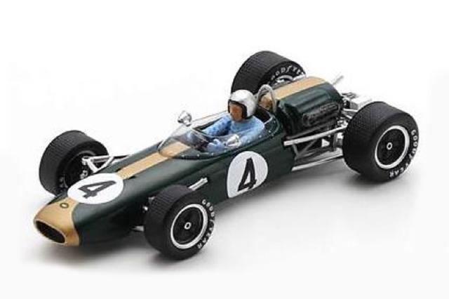 [予約] スパーク 1/43 ブラバム BT11A オーストラリアGP 1965 Winner J.ブラバム S7434