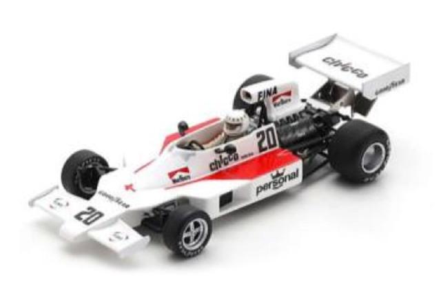 [予約] スパーク 1/43 ウィリアムズ FW03 スウェーデンGP 1975 D.マギー S7488
