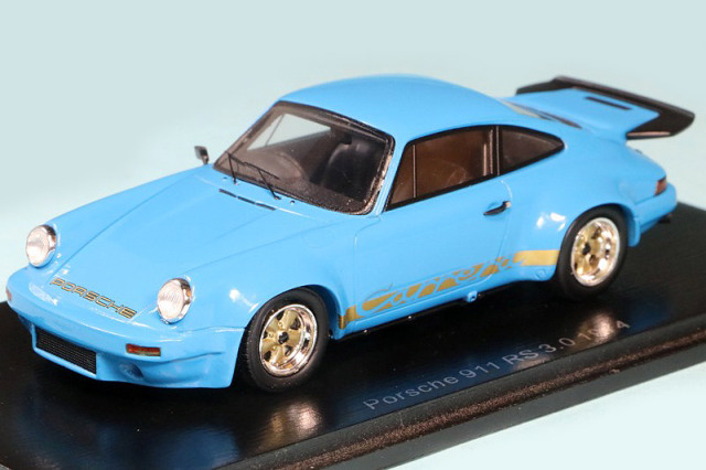 """スパーク 1/43 ポルシェ 911 RS 3.0 1974 """"Chassis number: 9114609092"""" RHD S7640"""