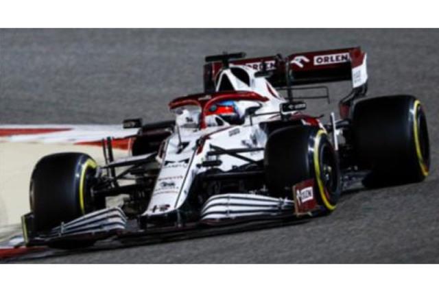 [予約] スパーク 1/18 アルファ ロメオ レーシング C41 バーレーンGP 2021 K.ライコネン 18S578