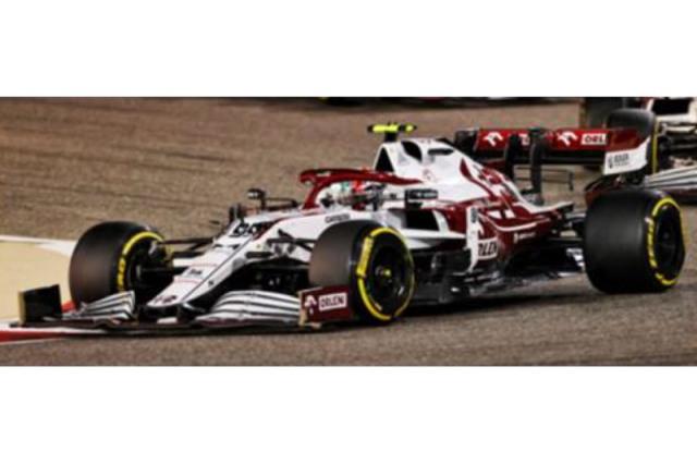 [予約] スパーク 1/43 アルファ ロメオ レーシング C41 バーレーンGP 2021 A.ジョビナッツィ S7663