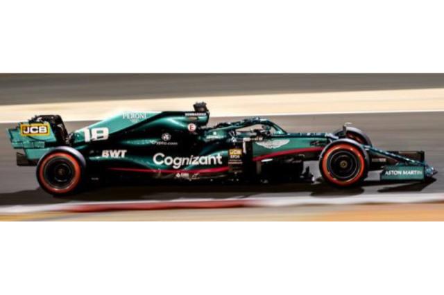 [予約] スパーク 1/43 アストン マーチン AMR21 バーレーンGP 2021 L.ストロール S7673