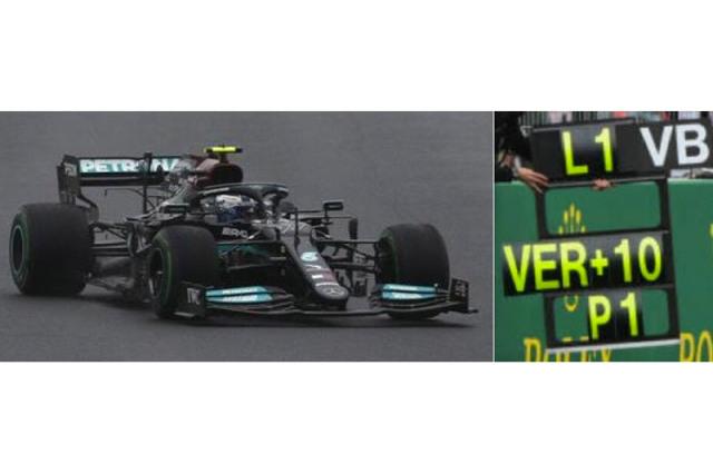 [予約] スパーク 1/43 メルセデス AMG W12 トルコGP 2021 Winner V.ボッタス ピットボード付 S7681