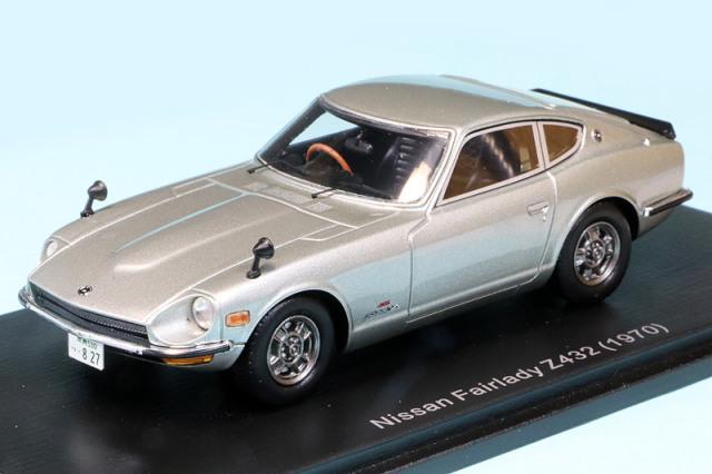 スパーク 1/43 ニッサン フェアレディ Z432 1970 シルバー S7750