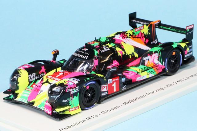 """スパーク 1/43 レベリオン R13 ギブソン """"Rebellion Racing"""" ルマン 24h 2019 Jani/Lotterer/Senna No.1 S7901"""