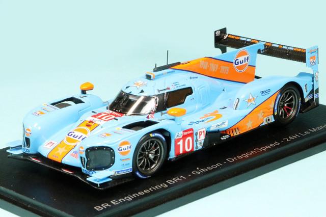 """スパーク 1/43 BR Engineering BR1 ギブソン """"Dragon Speed"""" ルマン 24h 2019 Hedman/Janley/Van der Zande No.10 S7905"""