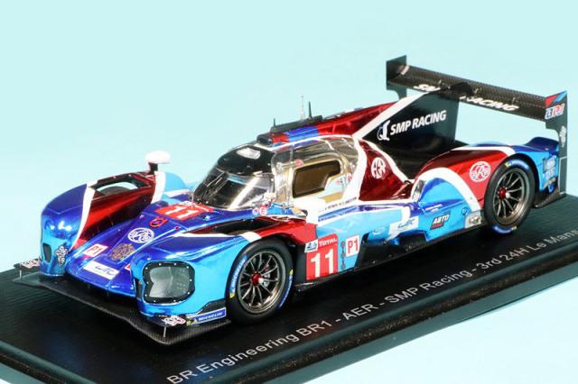 """スパーク 1/43 BR Engineering BR1 AER """"SMP Racing"""" ルマン 24h 2019 Petrov/Aleshin/Vandoorne No.11 S7906"""