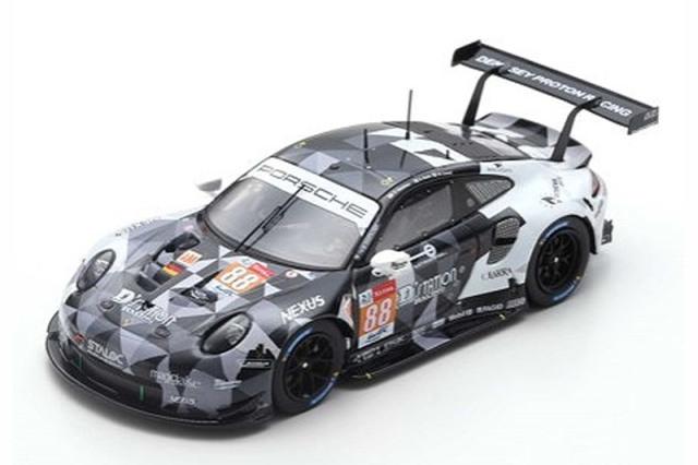 """スパーク 1/43 ポルシェ 911 RSR """"Dempsey-Proton Racing"""" ルマン 24h 2019 Hoshino/Roda/Cairoli No.88 S7947"""