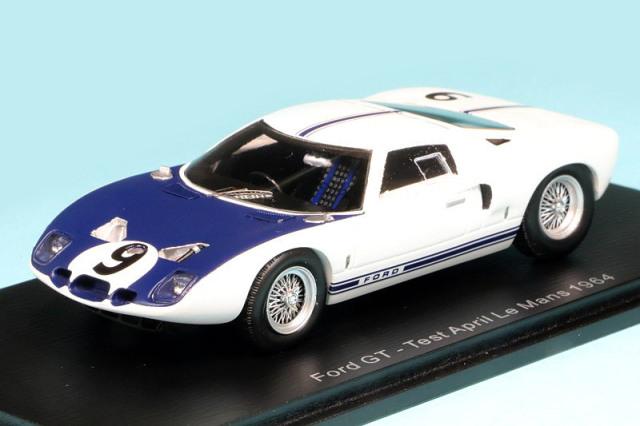 スパーク 1/43 フォード GT ルマン 1964 テスト No.9 S7953