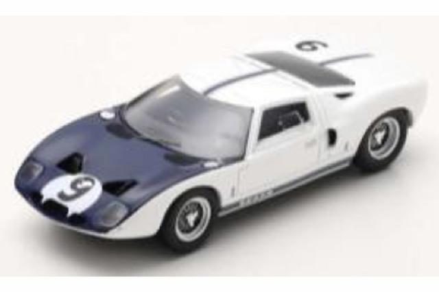 [予約] スパーク 1/43 フォード GT ルマン 1964 テスト No.9 S7953