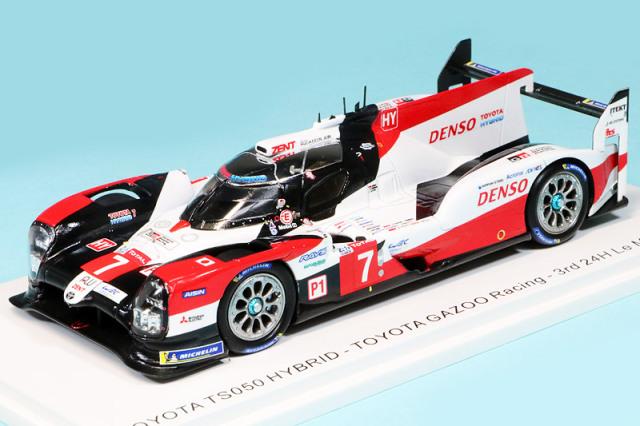 """スパーク 1/43 トヨタ TS050 ハイブリッド """"GAZOO Racing"""" ルマン 24h 2020 3rd No.7 S7958"""
